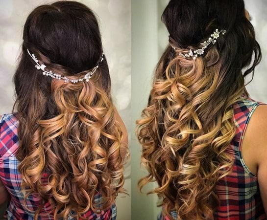 The Princess Curly Long Hair Feels