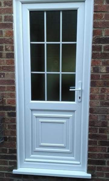UPVC Back Door Designs