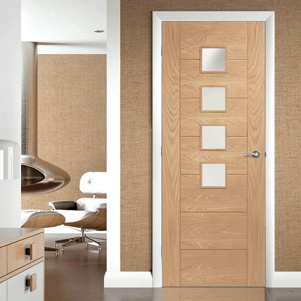Wood Office Door