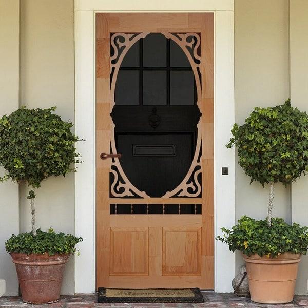 Wood Screen Door Designs