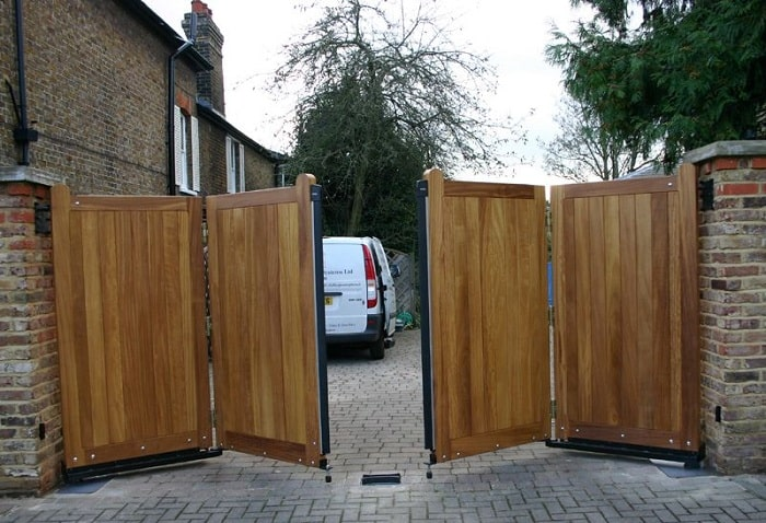 Wooden Folding Gate Designs