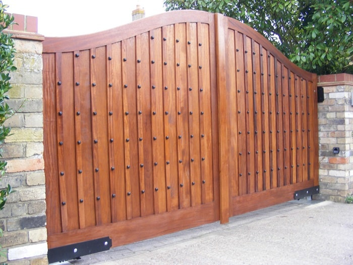 Beautify Your Home Exteriors With 10 Best Wooden Gate Designs