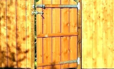 best wooden gate designs