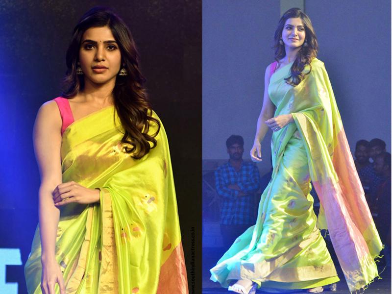 Samantha Akkineni In Saree