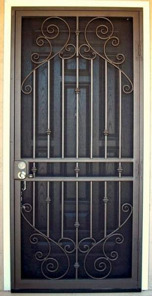 Iron Door Design