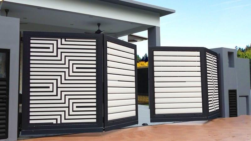 Modern Folding Gate Designs