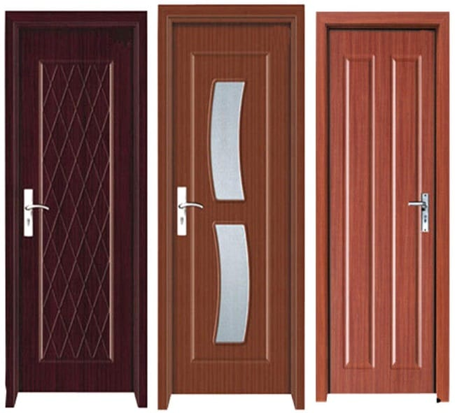 Modern PVC Door Designs With Pictures In India