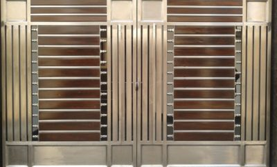 modern steel gate designs