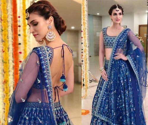 20 Modern Hairstyles To Wear With Lehenga Choli Styles At Life