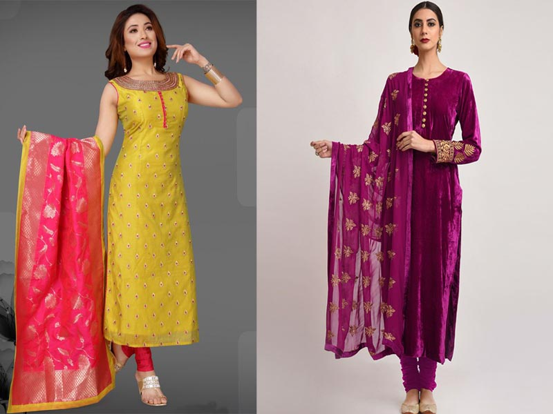25 Latest Churidar Dress Designs To Look Like A Desi Diva Styles At Life