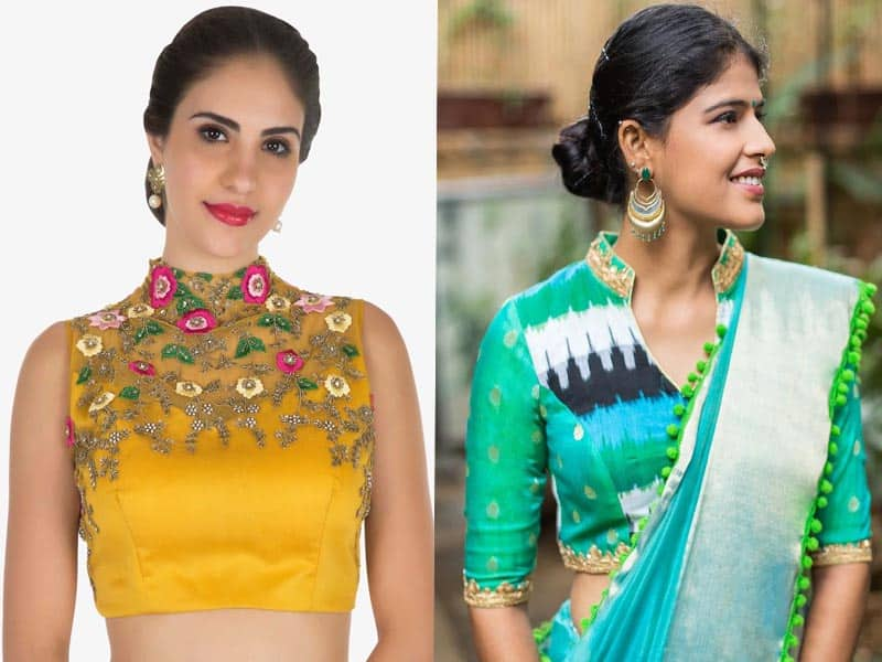 45 Stunning Collection Of Blouse Designs For Different Sarees