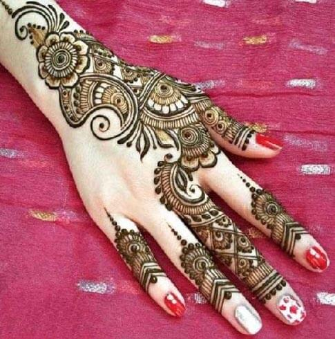 SIMPLE MEHANDI PATTERNS