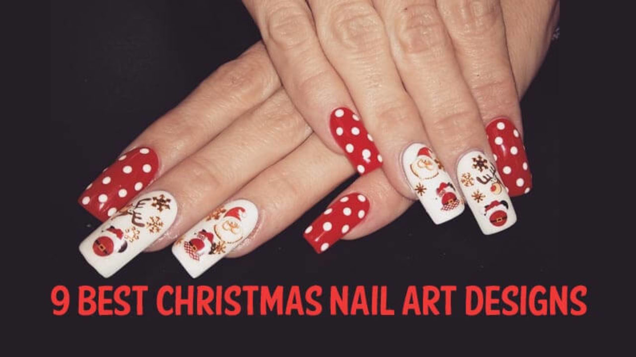 9 Best and Simple Christmas Nail Art Designs with Images