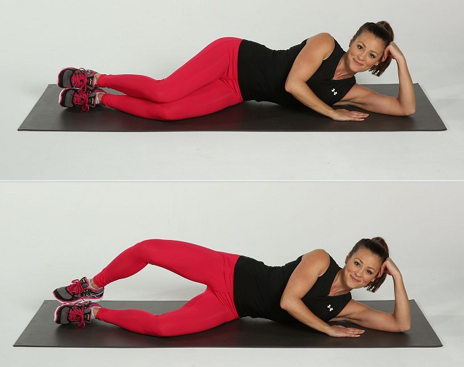 Clam Series 12 Best Exercises To Reduce Saddlebags Quickly At Home