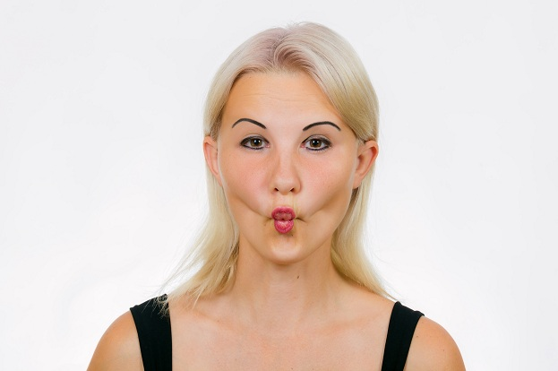 Fish Face Exercise - neck slimming exercises