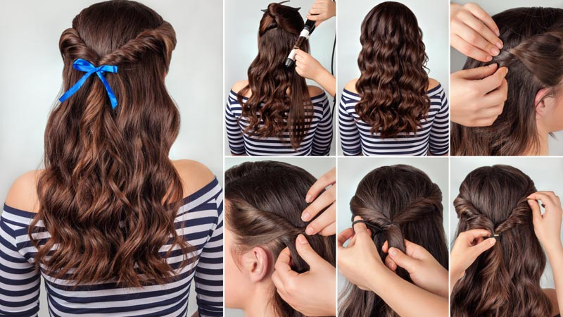 Twisted Hairstyle for Long Hair
