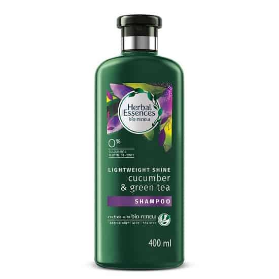 Herbal Essences Cucumber and Green Tea Shampoo