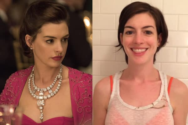 Actress Ann Jacqueline Hathway without Makeup