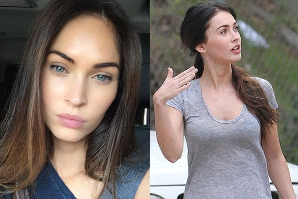 Hollywood Queen Megan Fox with No Makeup Picture