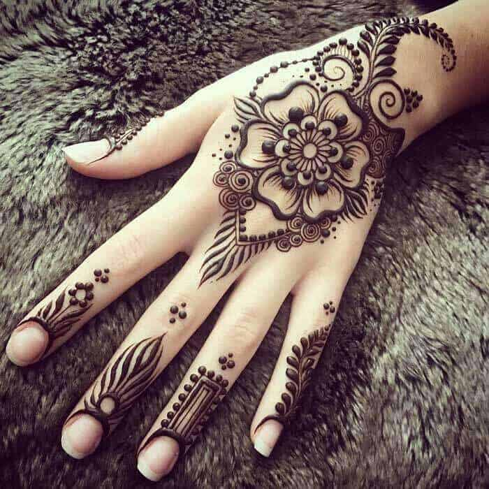 MEHNDI DESIGNS FOR BEGINNERS