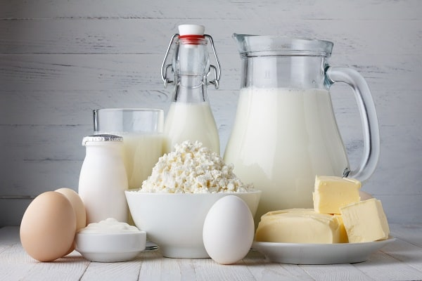 Milk And Dairy Products For Breast Enlargement
