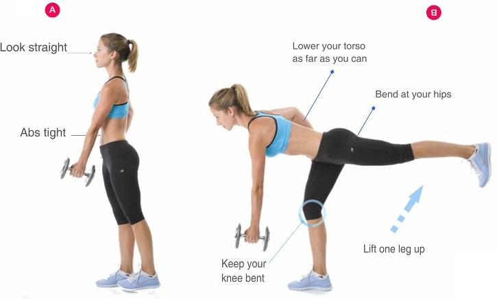 15 Best Exercises To Reduce Buttocks Bum Fat With Images