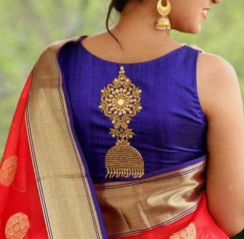 Silk Saree Blouse Designs 35 Beautiful And Trending Collection