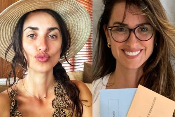 Hollywood Movie Star Penelope Cruz without Makeup