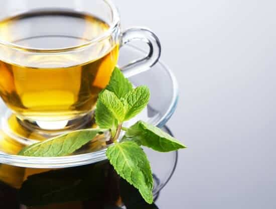 peppermint tea for food poisoning