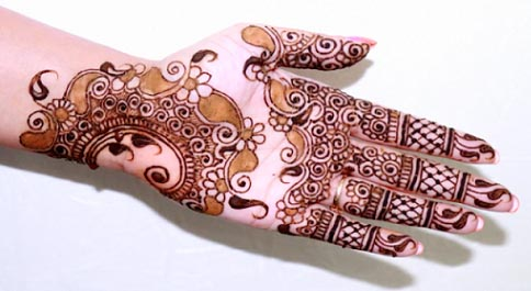 NEW MEHANDI PATTERNS