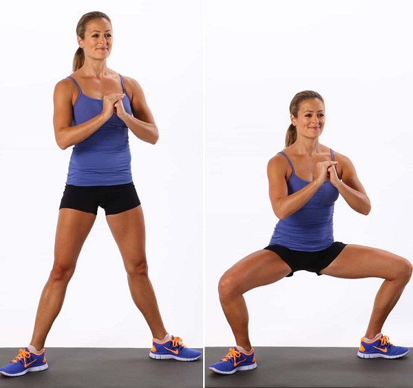 Sumo Squats 12 Best Exercises To Reduce Saddlebags Quickly At Home