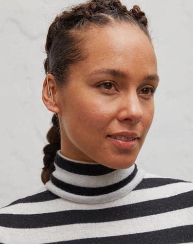 Alicia Keys Without Makeup 6