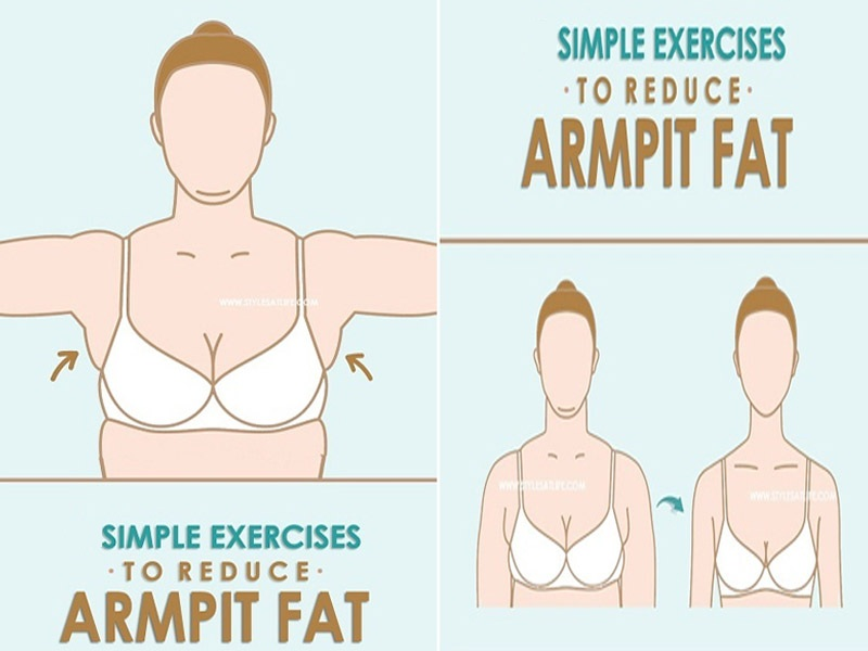 18 Simple Effective Exercises To Reduce Armpit Fat