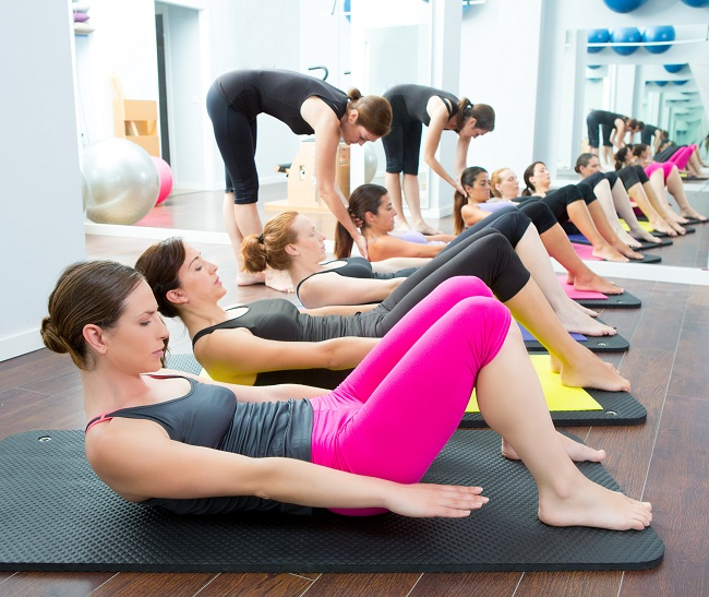 Aerobic Pilates - stretches to gain height