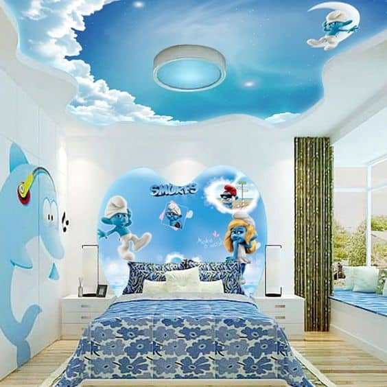 10 Best Kids Room Ceiling Designs That Your Child Will Love