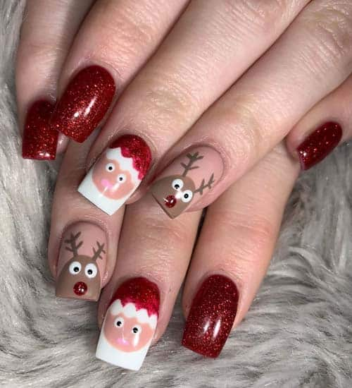 9 easy and best winter nail art designs 2020 styles at life winter nail art designs 2020 styles