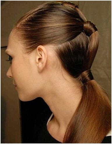 Double Ponytail Modern Hairstyles