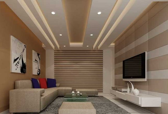 12 Creative Living Room Ceiling Ideas To Try In 2020