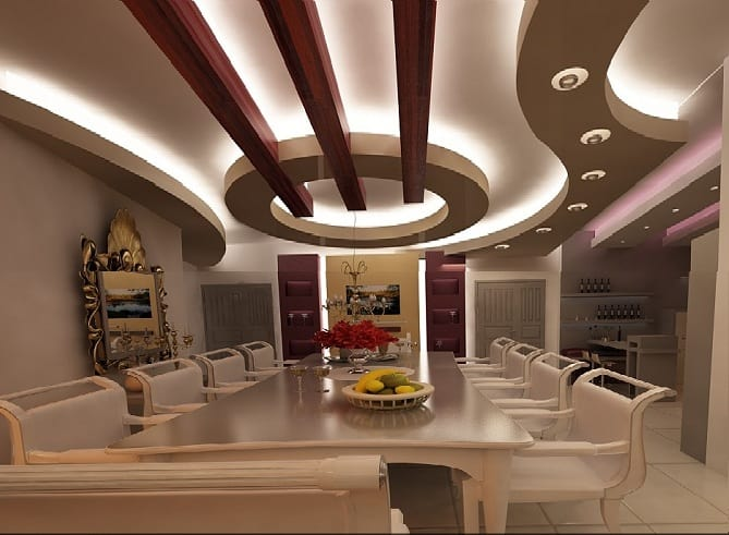 10 Latest Dining Room Ceiling Designs To Try In 2020