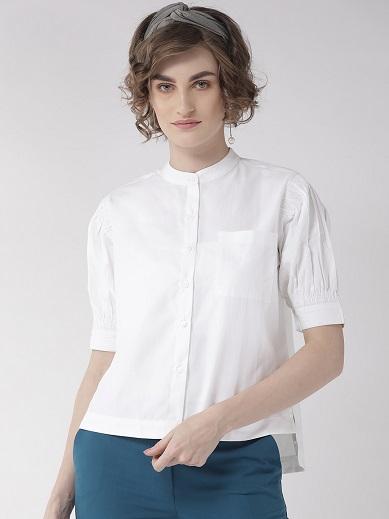 Half Sleeve Boxy Fit Formal Shirts