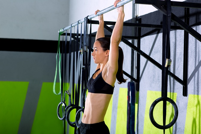 Hanging Bar - best stretching exercises to increase height