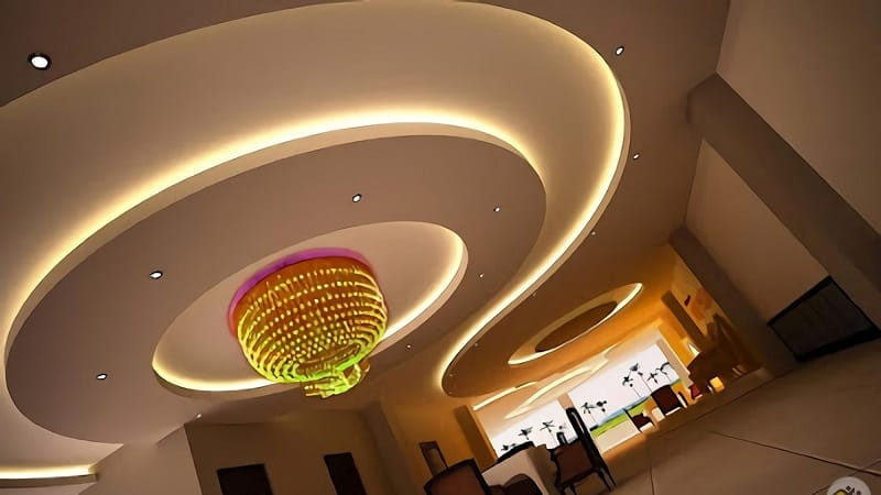 10 Simple Modern Round Ceiling Designs With Pictures