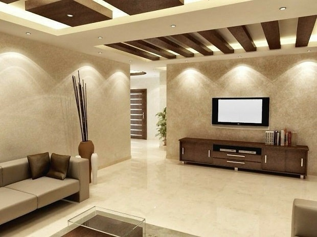 9 Modern Drawing Room Ceiling Designs With Pictures