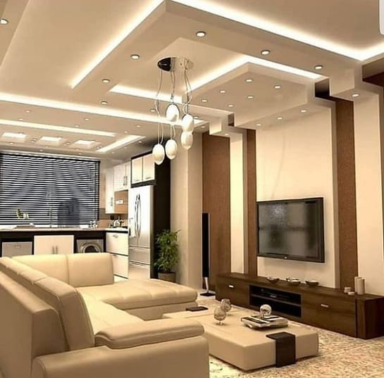 10 Modern Drawing Room Ceiling Designs With Pictures