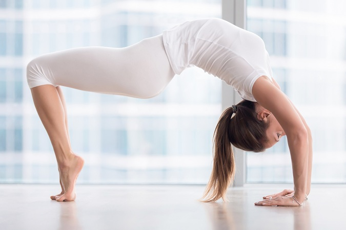 Reverse Table Pose - stretches to get taller