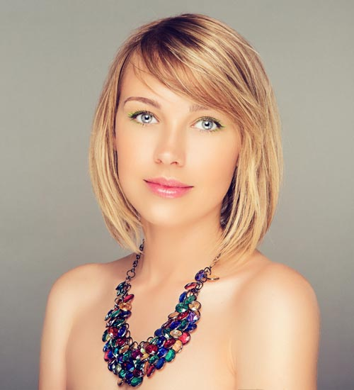 12 Popular And Contemporary Short Hairstyles With Bangs Styles At Life