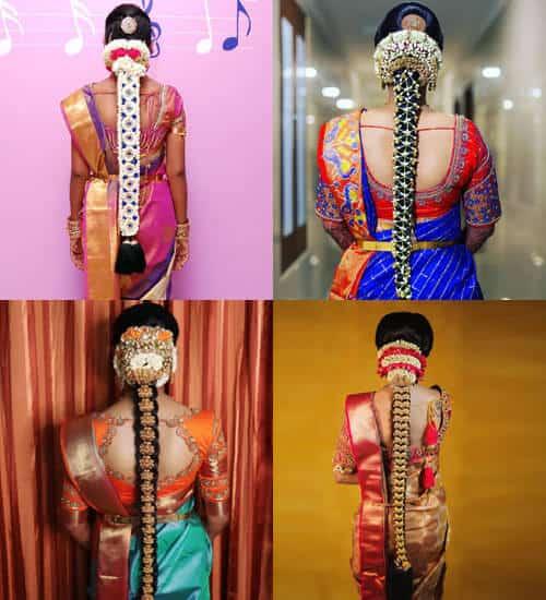 Traditional Elegant Flower Braid
