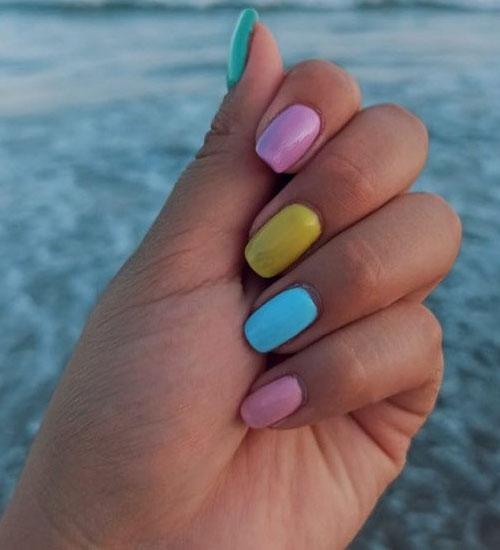 Summer Nail Art Designs Ombre 1