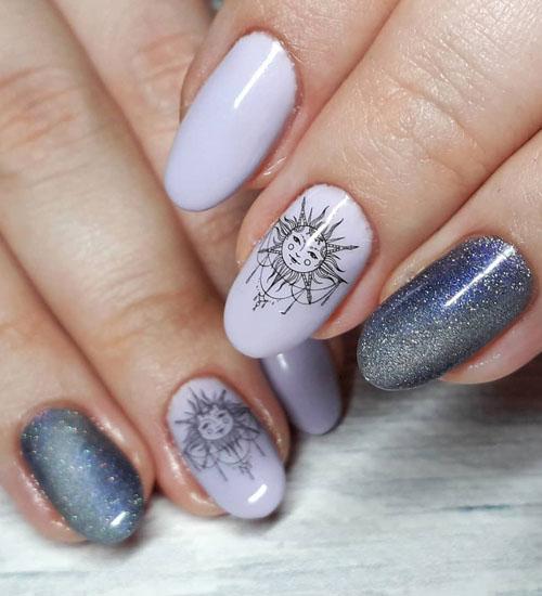 Summer Nail Art Designs Sun