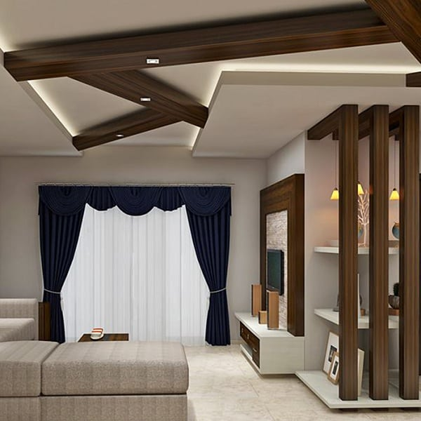 12 Modern Wooden Ceiling Designs For